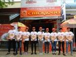 AnnA Uniforms thiết kế và may gia công áo thun cổ tròn, áo thun đồng phục nam nữ cho nhãn hàng Chick & Go