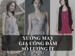 Nhận may gia công đầm số lượng ít