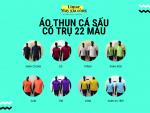 Địa chỉ bán áo thun cá sấu cổ trụ 22 màu - sỉ & lẻ từ xưởng may gia công áo thun