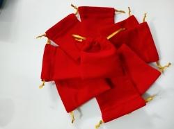 Xưởng may túi nhung dây rút đựng trang sức, vàng, vòng tay, quà