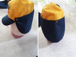 Xưởng sản xuất nón kết học sinh có miếng che nắng cổ - xưởng may nón học sinh TPHCM