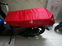 Sản xuất bao bọc yên xe máy chống nóng nhận diện thương hiệu cho cửa hàng, showroom, salon, ngân hàng, shop, công ty