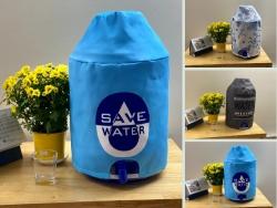 May sản xuất bao trùm bình nước 21 lít tại Xưởng may gia công đồng phục