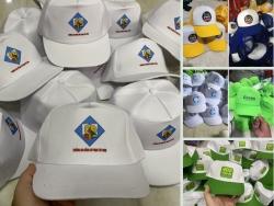 Xưởng sản xuất nón kết học sinh, mũ lưới trai du lịch - May gia công đồng phục
