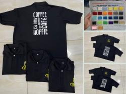 May Gia Công Đồng Phục giới thiệu xưởng áo phông, áo thun đồng phục nhân viên quán cà phê đẹp