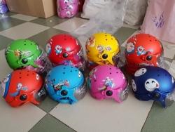 Xưởng sản xuất mũ bảo hiểm trẻ em hình thú, siêu nhẹ có kính, 3/4 đầu giá sỉ từ TPHCM