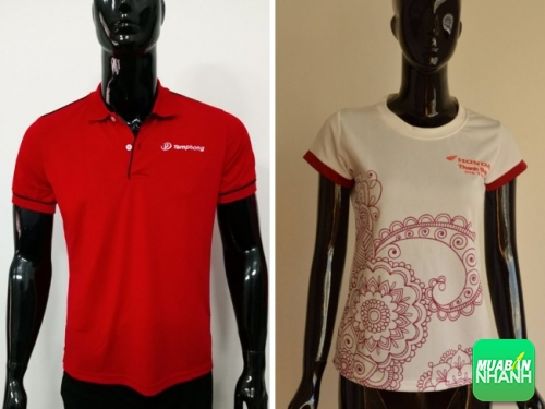 Đặt may áo thun đồng phục công ty giá rẻ tại TPHCM
