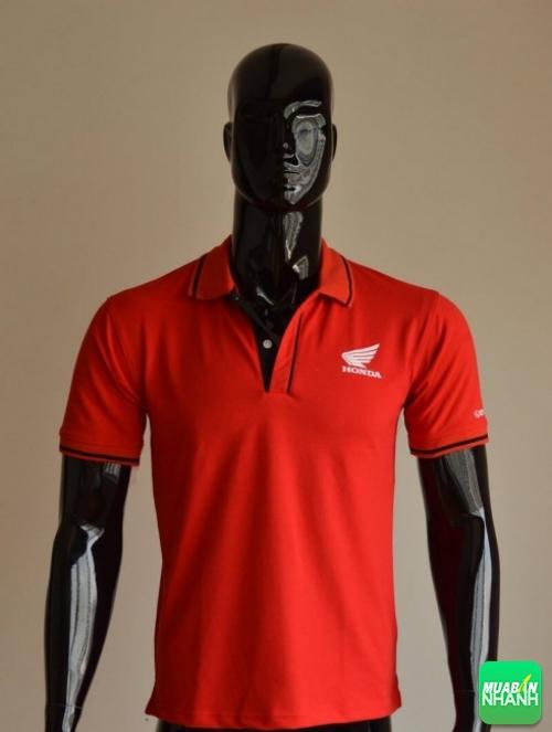 Mẫu áo thun cá sấu màu đỏ làm đồng phục cửa hàng Head Honda (1)