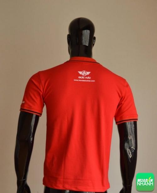 Mẫu áo thun cá sấu màu đỏ làm đồng phục cửa hàng Head Honda (2)