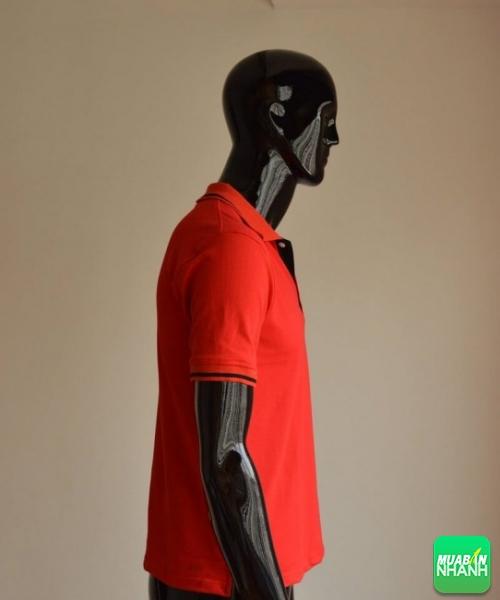 Mẫu áo thun cá sấu màu đỏ làm đồng phục cửa hàng Head Honda (3)