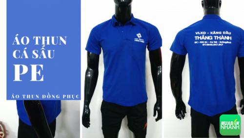 Đặt may áo thun đồng phục giá rẻ TPHCM - áp thun cá sấu PE