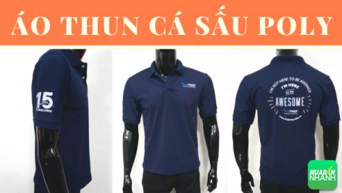 Công ty may áo thun đồng phục TPHCM - áo thun cá sấu Poly