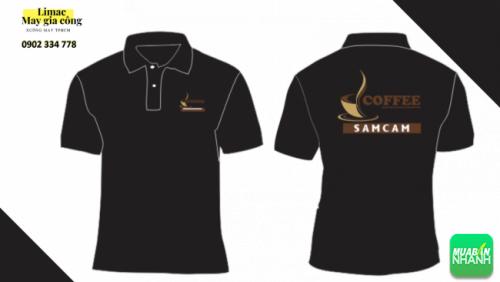 Mẫu áo thun đen - áo phục vụ cafe