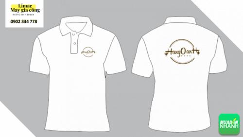 Mẫu áo thun trắng - áo phục vụ cafe