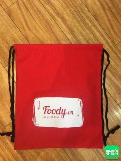 Túi dây rút quảng cáo cho Foody