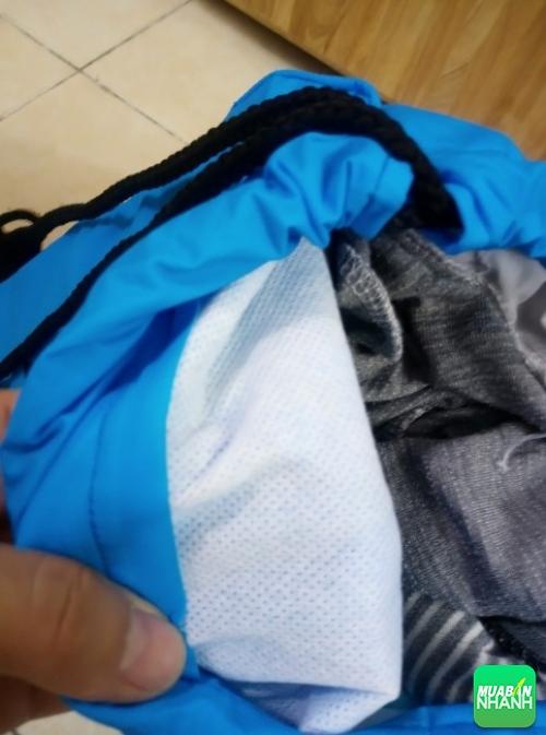 Túi dây rút vải dù với lớp lót mặt trong