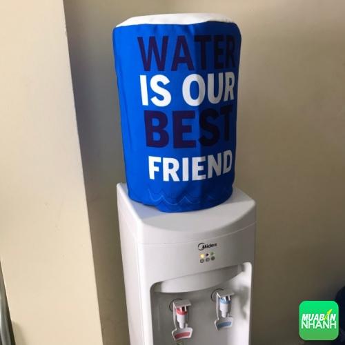 May áo bọc bình nước, áo trùm bình nước, bao trùm bình nước | Vải nhung (4)