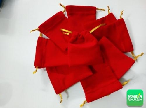 Túi rút màu đỏ - xưởng may Limac - maygiacongdongphuc.com