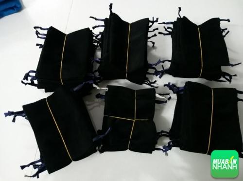Túi rút màu đen - xưởng may Limac