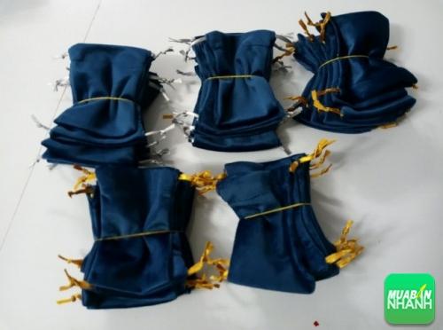 Túi rút màu xanh coban - xưởng may Limac
