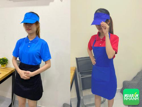 Top 10 set đồng phục nhân viên phục vụ đa sắc màu với nón không chóp - tạp dề ngắn - áo thun, 93, Hải Lý, MayGiaCongDongPhuc.com, 26/08/2020 09:43:11